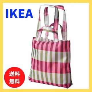 IKEA スキンケ エコバッグ 折りたたみ トートバッグ インスタ イケア 北欧