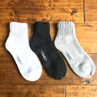 1LDK SELECT - 【新品未使用品・3足セット】UNIVERSAL PRODUCTS ソックス 靴下