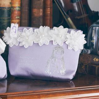 Maison de FLEUR - メゾンドフルール プチローブカノン 知世ちゃんと紫陽花の下でポーチ S