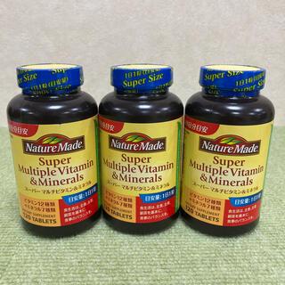 オオツカセイヤク(大塚製薬)のネイチャーメイド スーパーマルチビタミン&ミネラル 3個(ビタミン)
