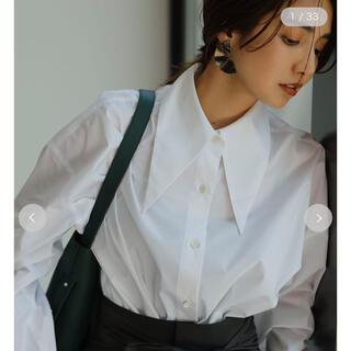 フレイアイディー(FRAY I.D)のロングポイントカラーシャツ(シャツ/ブラウス(長袖/七分))