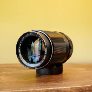 ペンタックス(PENTAX)の【特上品】SMC タクマー 150mm f4 コンパクトな望遠(レンズ(単焦点))