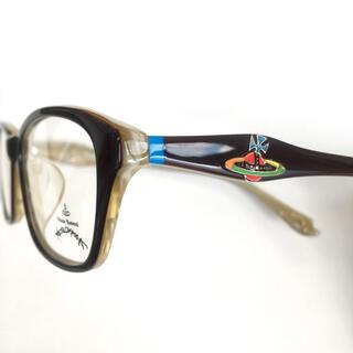 ヴィヴィアンウエストウッド(Vivienne Westwood)の【新品・未使用】ヴィヴィアン ウエストウッド メガネ 張り合わせ生地(サングラス/メガネ)