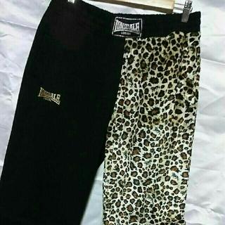 ロンズデール(LONSDALE)の美品 3L LONSDALE スウェット パンツ ジャージ 大きいサイズ 豹柄(ジャージ)