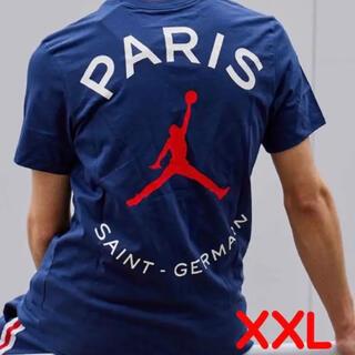 NIKE - XXLサイズ NIKE  JORDAN  PSG ロゴTシャツ 新品国内正規品
