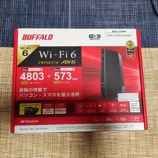 納品書有りBUFFALO WiFi6無線LANルーターWSR-5400AX6S