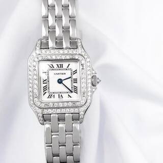 Cartier - 【仕上済】カルティエ パンテール SM シルバー ダイヤ レディース 腕時計