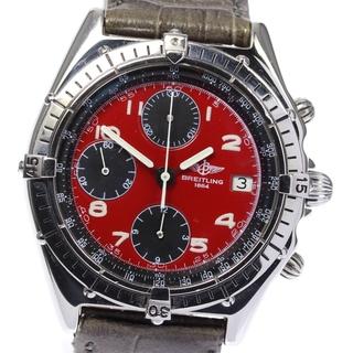 ブライトリング(BREITLING)のブライトリング クロノマット デイト 81950 自動巻き メンズ 【中古】(腕時計(アナログ))