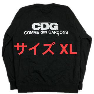 COMME des GARCONS - 【極美品 XL】COMME des GARCONS:Logo Crewneck