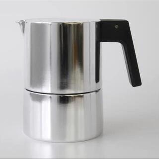 アレッシィ(ALESSI)のALESSI アレッシィ PINA エスプレッソコーヒーメーカー 6カップ用(コーヒーメーカー)