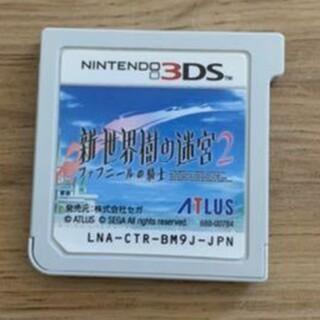新・世界樹の迷宮2 ファフニールの騎士/3DS ソフトのみ