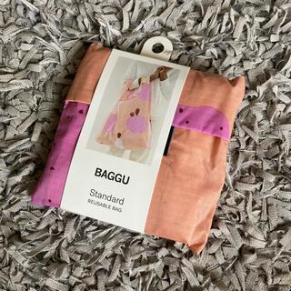 ビームス(BEAMS)のラスト1点‼︎ 新品未使用 BAGGU バグー ピンクカクタスフラワー(エコバッグ)