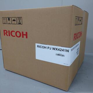 リコー(RICOH)のRICOH PJ WX4241N 超単焦点プロジェクター(新品・未使用品)(プロジェクター)