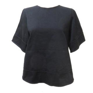 ドゥロワー(Drawer)のドゥロワー Drawer カットソー 半袖 黒 ブラック 1 S コットン X(その他)
