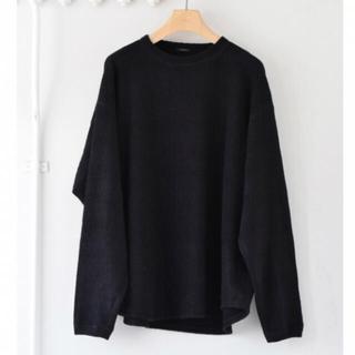 コモリ(COMOLI)のcomoli コモリ シルクフリース カットソー(Tシャツ/カットソー(半袖/袖なし))