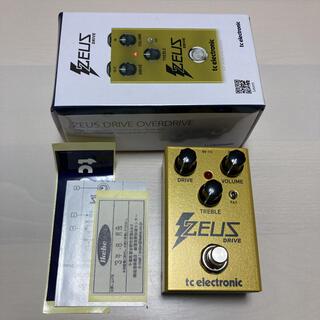 tc electronic zeus drive(エフェクター)