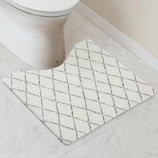 ニトリ - NITORI ニトリ 拭けるトイレマット(ダイヤ) 韓国 清潔 新品未使用