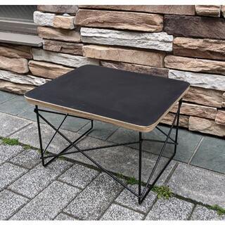 イームズ LTRT テーブル ローテーブル ミニテーブル サイドテーブル 黒/黒