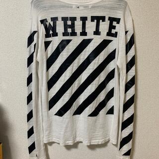 オフホワイト(OFF-WHITE)のoff white ロンT(Tシャツ(長袖/七分))