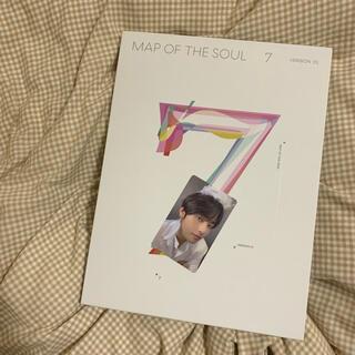 防弾少年団(BTS) - BTS MAP OF THE SOUL 7  ver1アルバム テヒョン トレカ