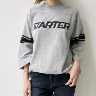 アパルトモンドゥーズィエムクラス(L'Appartement DEUXIEME CLASSE)の【COUTURE D`ADAM】STARTER Logo 7部袖Tsh(Tシャツ(長袖/七分))