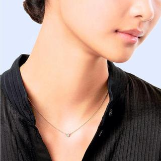 Tiffany & Co. - 美品 ティファニー バイザヤード ダイヤモンド ネックレス YG 0.14ct
