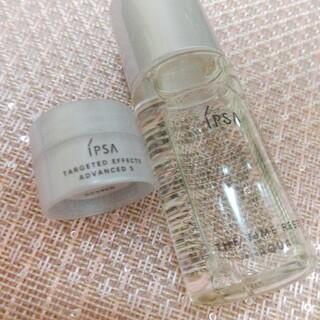 IPSA - イプサ ザ・タイムR アクア 化粧水 30ml クリーム付 新品未使用 送料無料