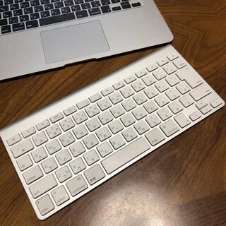 マック(Mac (Apple))のApple Wireless Keyboard ワイヤレス キーボード No3(PC周辺機器)