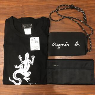 agnes b. - アニエスベーTシャツ アニエスベーマルチケース付録 アニエスベー財布