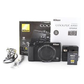 Nikon COOLPIX A900 ブラック(コンパクトデジタルカメラ)