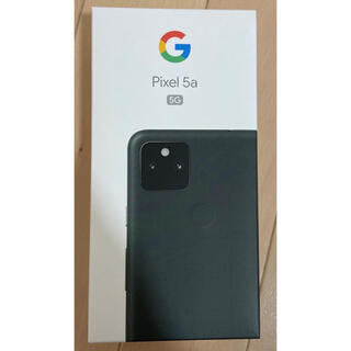 Google Pixel - Google pixel5a 5g 128GB 新品未使用 simフリー