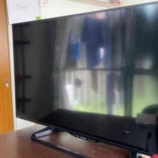 アクオス(AQUOS)のSHARP AQUOS 液晶テレビ 40.0インチ/リモコン(テレビ)