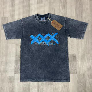 TENDERLOIN - 人気品!  TENDERLOIN 半袖 Tシャツ ACID ネイビー 紺 青 M
