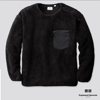 ユニクロ(UNIQLO)のUNIQLOXengineered garments プルオーバー L ブラック(その他)