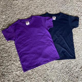 ビームス(BEAMS)の新品未使用 2枚セット フルーツオブザルーム Tシャツ キッズ 130(Tシャツ/カットソー)