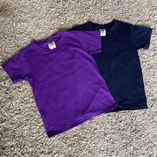 ビームス(BEAMS)の新品未使用 2枚セット フルーツオブザルーム Tシャツ キッズ 120(Tシャツ/カットソー)