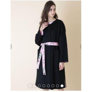 レオナール(LEONARD)の☆専用品☆ レオナール ウールコート かなり大きめ40(ロングコート)