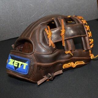 ZETT - 【全紐交換済み】ZETT 一般軟式 野球グローブ