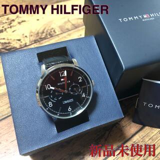 トミーヒルフィガー(TOMMY HILFIGER)の✴︎新品✴︎ 正規品 トミーヒルフィガー  腕時計 クロコ型押し レザーベルト(腕時計(アナログ))
