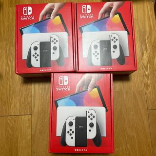 Nintendo Switch - Nintendo Switch スイッチ 有機EL ホワイト×3台