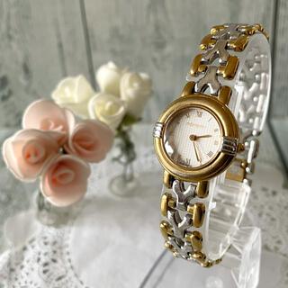サンローラン(Saint Laurent)の【電池交換済み】Yves Saint Laurent Yベルト 腕時計 ラウンド(腕時計)