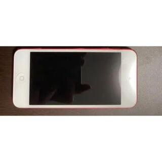 アイポッドタッチ(iPod touch)のiPod touch 第6世代 プロダクトレッド32GB(ポータブルプレーヤー)