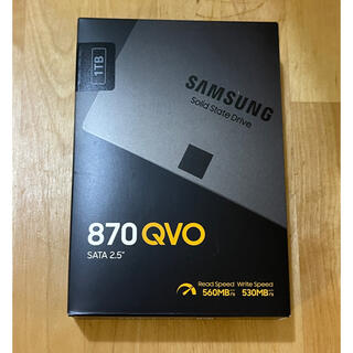 SAMSUNG - 【新品未使用】SAMSUNG SSD 870QVO MZ-77Q1T0B/IT