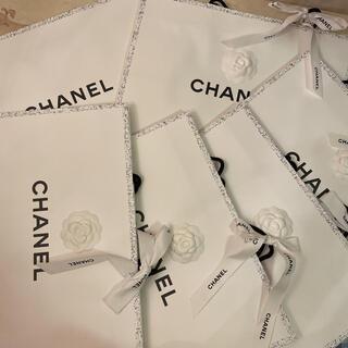 CHANEL - CHANEL ショッパー ギフト袋 シャネル ショップ袋 ブランド紙袋 カメリア