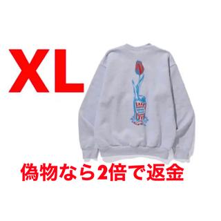 ジーディーシー(GDC)のWHIMSY X WASTED YOUTH CREWNECK  XLサイズ(スウェット)