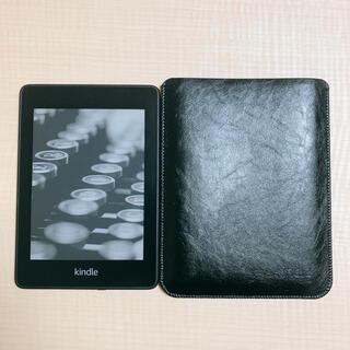 kindle paperwhite 8GB ブラック 広告なし 革ケース付き