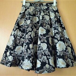 エムズグレイシー(M'S GRACY)のレストローズ☆可愛らしいスカート(ひざ丈スカート)