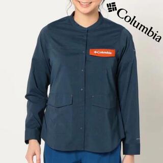 コロンビア(Columbia)のColumbia セカンドヒル ウィメンズ ロングスリーブシャツ アウトドア S(シャツ/ブラウス(長袖/七分))