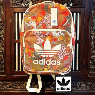 アディダス(adidas)のアディダス ファーム 新品 南国 花柄 リュック バックパック ハンドバッグ(リュック/バックパック)