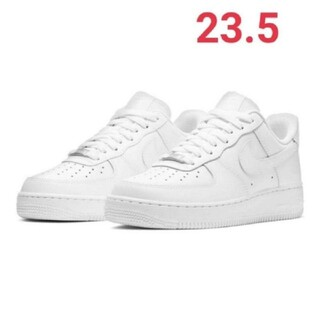 NIKE - 【新品未使用】NIKE AIRFORCE1 エアフォース1 白ナイキ WMNS